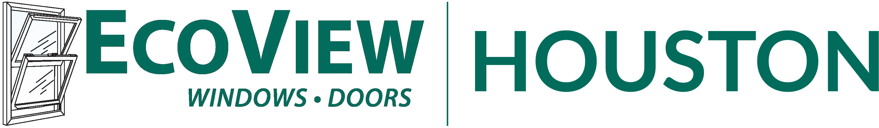 EcoView Windows Doors Logo